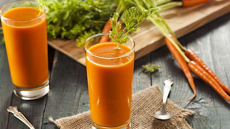Minden nap igyál meg egy pohár sárgarépalevet