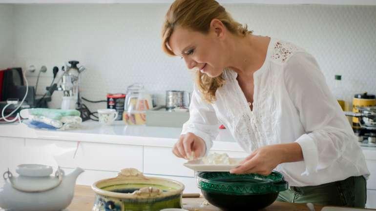 Karfiolpizza (a Bosch támogatásával, Borbás Marcsi receptje)