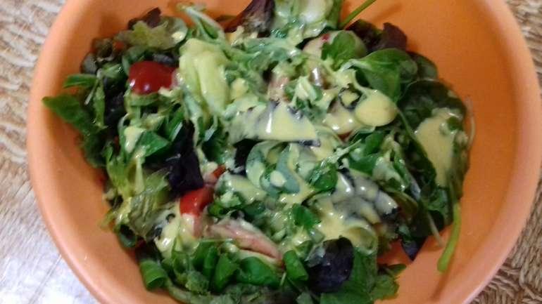 Begyes saláta