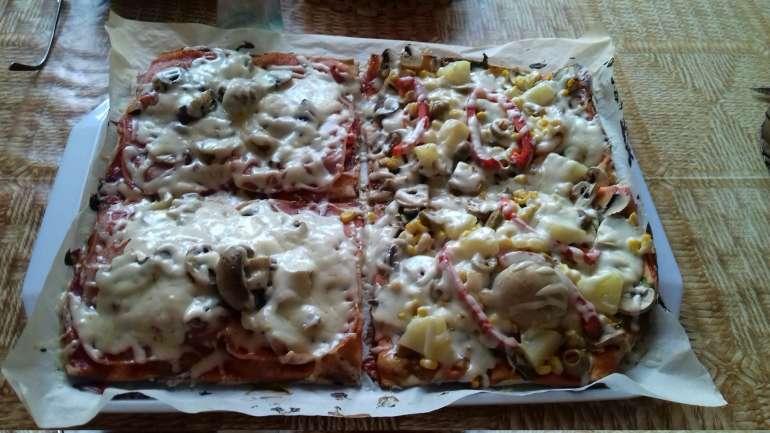 Böjti pizza